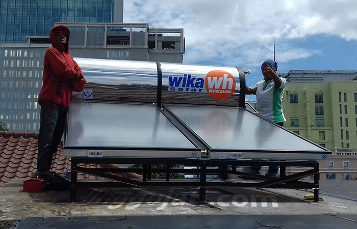 Wika Solar Water Heaters Bp. Doni - Kebayoran Baru