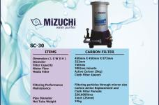 Gallery WATER PURIFIER<br>FILTER AIR 11 specification_mizuchi_sc_30